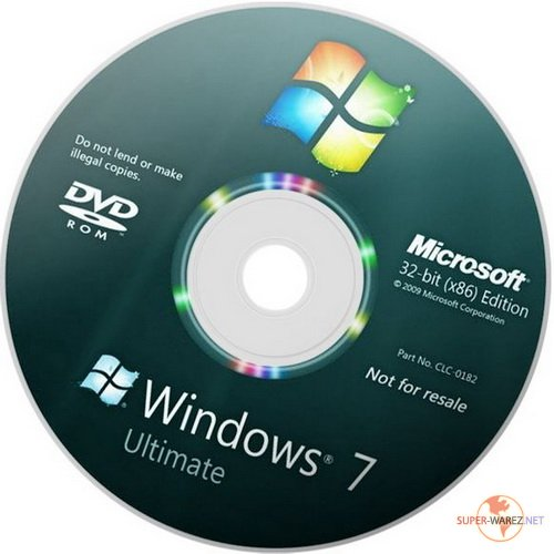 Windows 7 Ultimate SP1 Fast Install x86 (2011/RUS/Образ TIB)