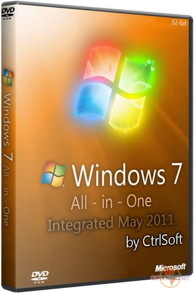 Windows 7 AIO SP1 x86 Integrated May 2011 by CtrlSoft (2011/RUS)
