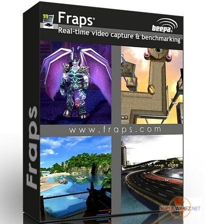 Fraps 3.4.3 Build 13411 Retail + Rus