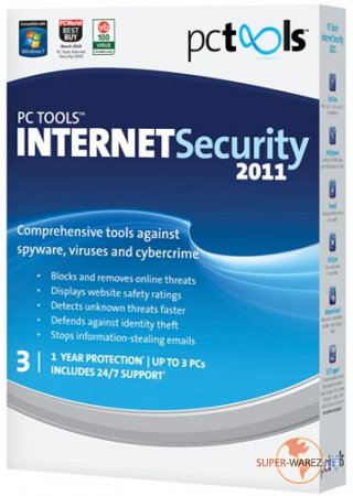PC Tools Internet Security 2011 v 8.0.0.652