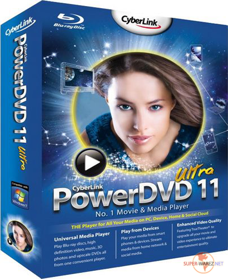 CyberLink PowerDVD Ultra 11.0.1919.51 [Multi/Rus]