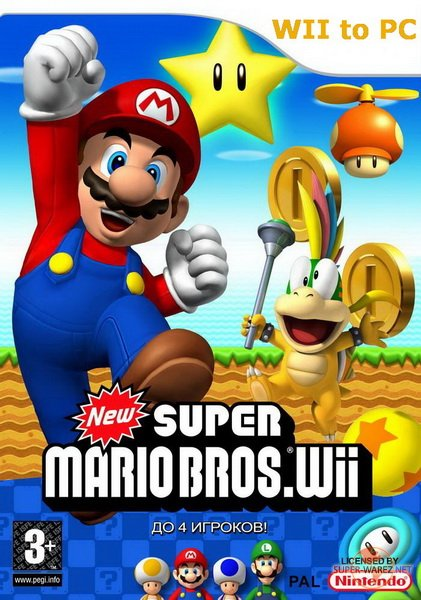 New Super Mario Bros (2009/ENG)