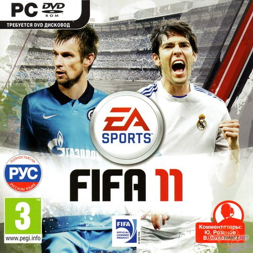 FIFA 11: RFPL (2010/RUS/RePack by Sarcastic)