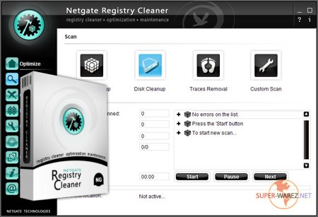 NETGATE Registry Cleaner v3.0.305.0