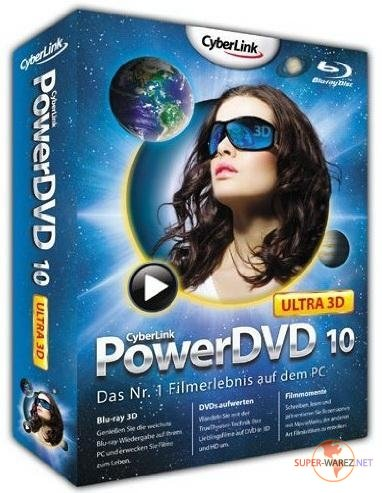 CyberLink PowerDVD Ultra v10.0.3306 RePack by Lisabon (qazwsxe)