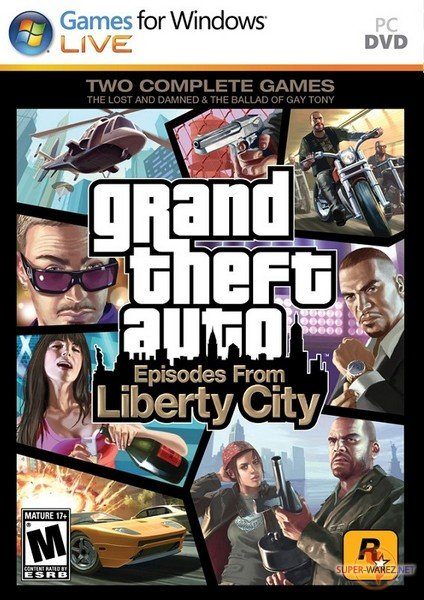 Grand Theft Auto 4: Episodes From Liberty City (2010/ENG) / Repack