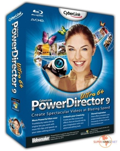 CyberLink PowerDirector Ultra64 v9.0.0.3305 + Rus