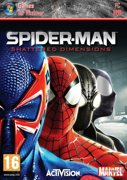 Spider-Man: Shattered Dimensions (2010/RUS/ENG/RePack by R.G. Механики)