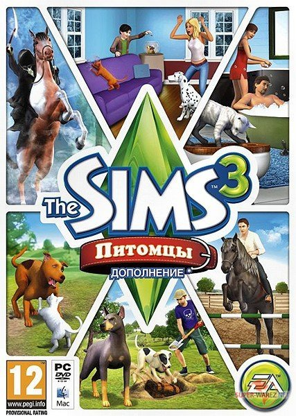 The Sims 3: Питомцы / The Sims 3: Pets (2011/RUS/ENG/Add-On)