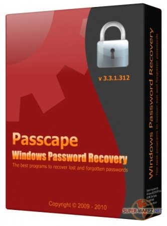 Passcape Windows Password Recovery v 3.3.1.312 Advanced Edition