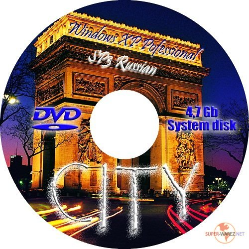 Windows XP Professional SP 3 City v2 (Русский)