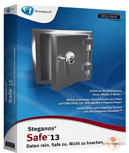 Steganos Safe 2012 v 13.0.1 (Revision 9898) Multilingual