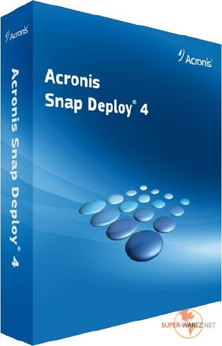 Acronis Snap Deploy 4.0.268 BootCD *Russian*
