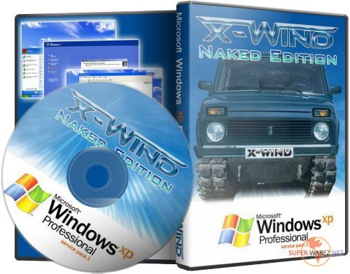 Windows XP Professional SP3 (X-Wind) by YikxX, RUS, VL, x86 Naked Edition (25.12.2011)