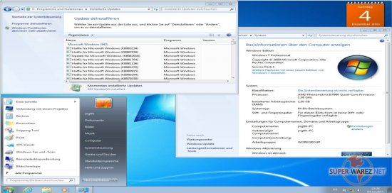 Windows 7 SP1 5in1+4in1 Deutsch (x86/x64) 02.12.2011