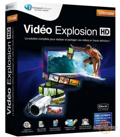 Avanquest Video Explosion Ultimate v 7.7