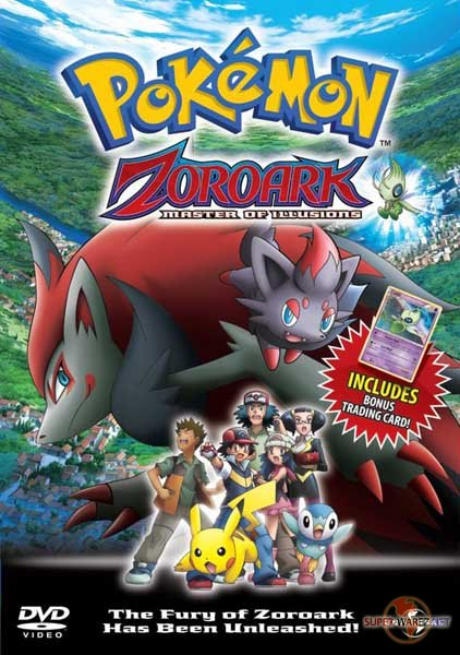 Покемон: Фильм 13 / Pokemon: Zoroark: Master of Illusions (2010/HDRip)