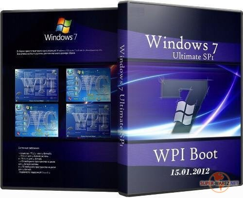 Microsoft  Windows  7 Ultimate Ru x86/x64 SP1 WPI Boot OVG 15.01.2012