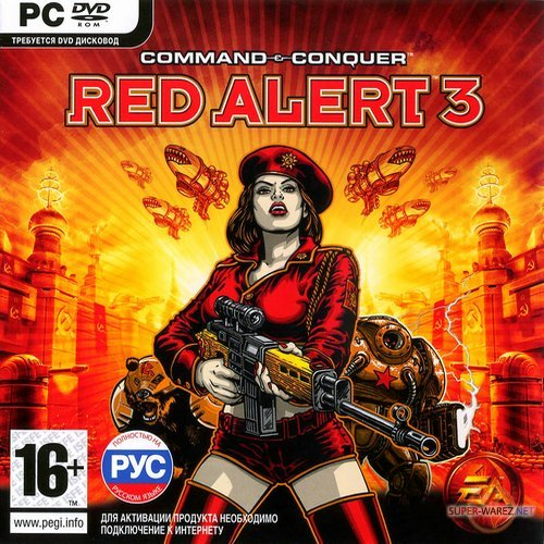 Command and Conquer Red Alert 3: Complete Edition (2009/RUS/ENG/RePack by R.G.Origami)