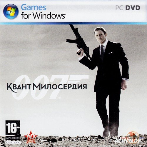 007: Квант милосердия / Quantum of Solace: The Game (2009/RUS/Rip)