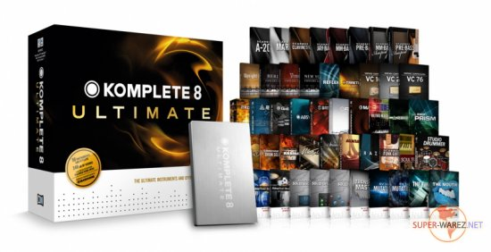 Native Instruments Komplete 8 Ultimate - Win/MacOSX (HDD-Clone/2012)