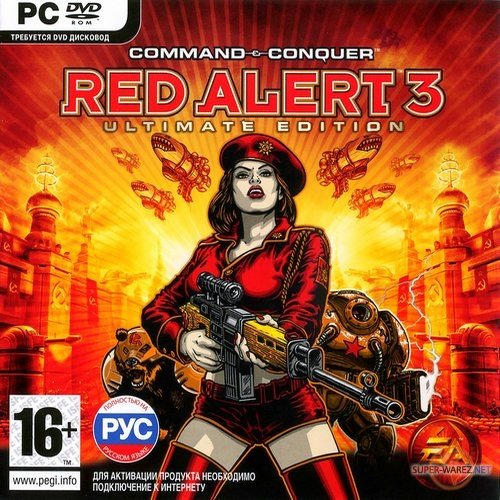 Command and Conquer Red Alert 3: Дилогия (2009/RUS/ENG/RePack)
