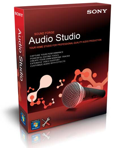 Sony Sound Forge Audio Studio 10.0 Build 177