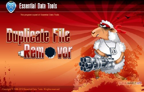 Essential Data Tools Duplicate File Remover 3.1 Repack by T_T (2012/Rus)