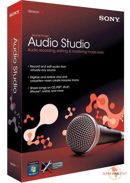 Sound Forge Audio Studio v10.0.176 Rus Portable by goodcow