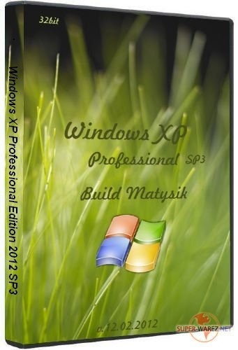 Windows XP Professional Edition 2012 SP3 (Build Matysik)