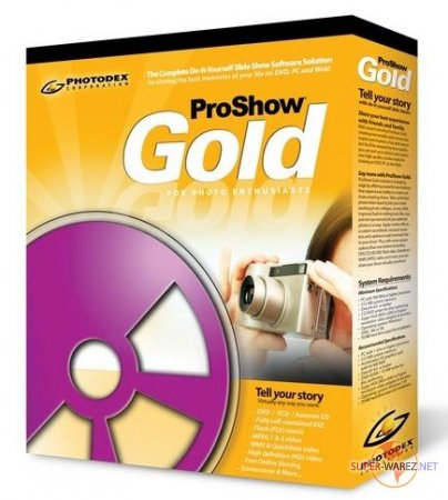 Photodex ProShow Gold v 5.0.3206 Portable