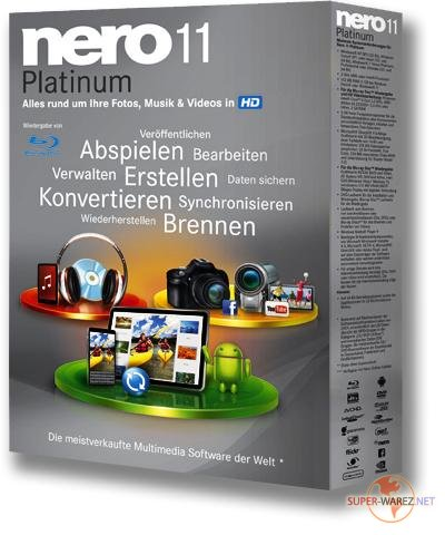 Nero Multimedia Suite Platinum 11.2.00400 (Multi/Rus)