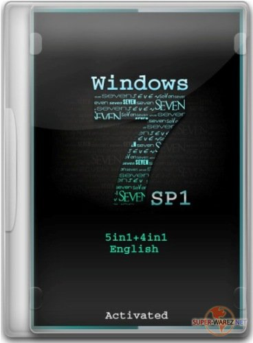 Windows 7 SP1 5in1+4in1 English (x86/x64) 06.03.2012