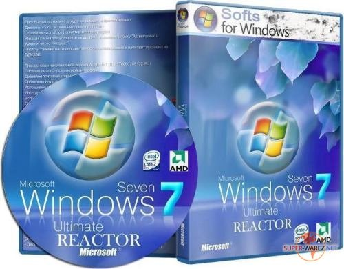 Windows 7 Ultimate x64 SP1 REACTOR 3.12 (2012/RUS)