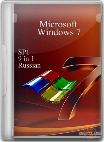 Windows 7 SP1 9 in 1 Russian (x86+x64) 14.03.2012