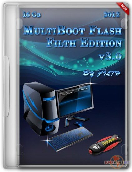 MultiBoot Flash Filth Edition 2012 v3.0 (RUS/ENG)
