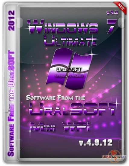 Windows 7 x64 Ultimate UralSOFT & MiniWPI v.4.9.12 (RUS/2012)