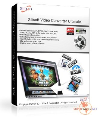 Xilisoft Video Converter Ultimate 7.2.0 build 20120420 RePack by elchupakabra