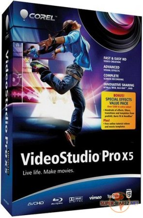 Corel VideoStudio Pro X5 v 15.0.0.258 Final RePack