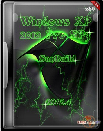 Windows XP 2012 Pro SP3 SanBuild 2012.4
