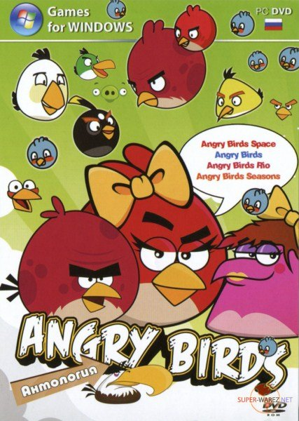 Angry Birds Anthology / Сердитые Птицы: Антология (2011-2012/Eng/PC) RePack by Dark_Delphin