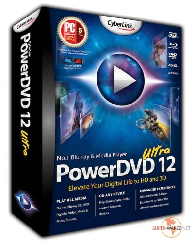 CyberLink PowerDVD Ultra 12.0.1618.54 Multilingual