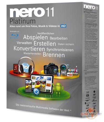 Nero 11 Platinum HD v 11.2.00700 Multilingual