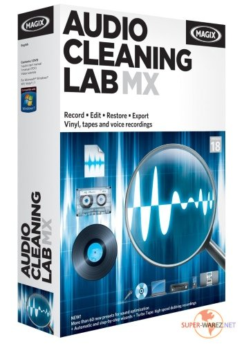MAGIX Audio Cleaning Lab MX v 18.0.0.9 Multilingual
