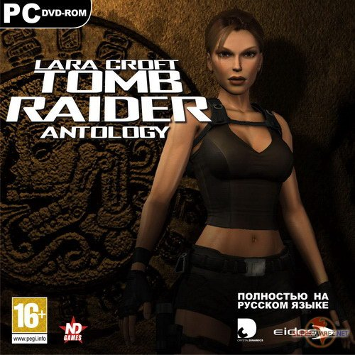 Tomb Raider: Anthology (1996-2008/RUS/ENG/RePack by R.G. Catalyst)