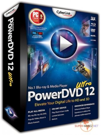 CyberLink PowerDVD Ultra v 12.0.1620.54 Final