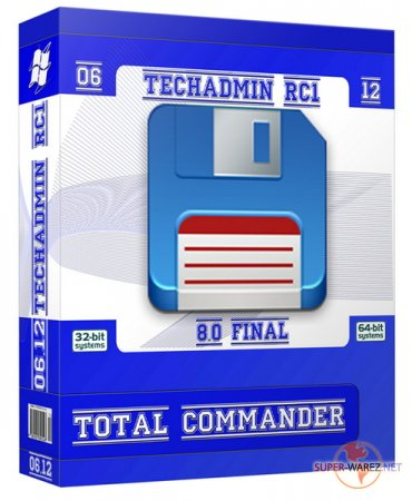 Total Commander v 8.0 Final TechAdmin (RC1) x86 (06.2012|Rus)
