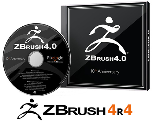 Pixologic ZBrush v 4R4 (Windows/MacOSX)