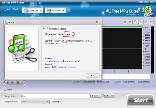 All Free MP3 Cutter 3.1.9