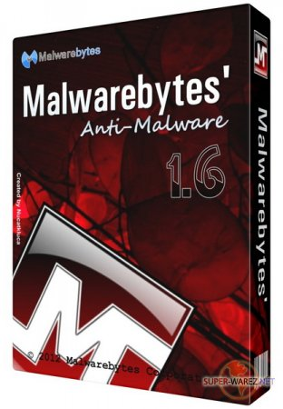 Malwarebytes' Anti-Malware v 1.62.0.1300 Final